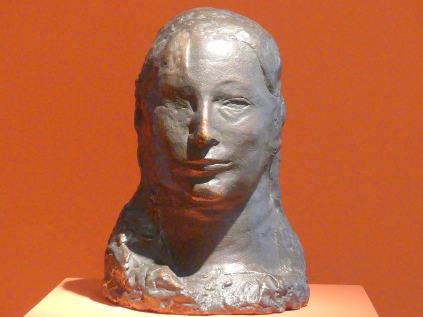 Pablo Picasso: Frauenkopf (Fernande), 1906
