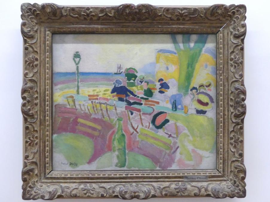 Raoul Dufy: Die Strandterrasse, 1907
