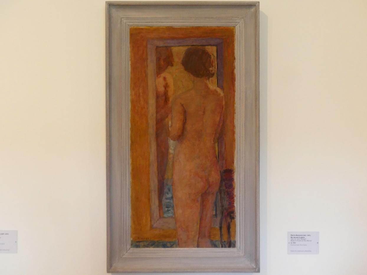 Pierre Bonnard: Akt vor dem Spiegel, 1934