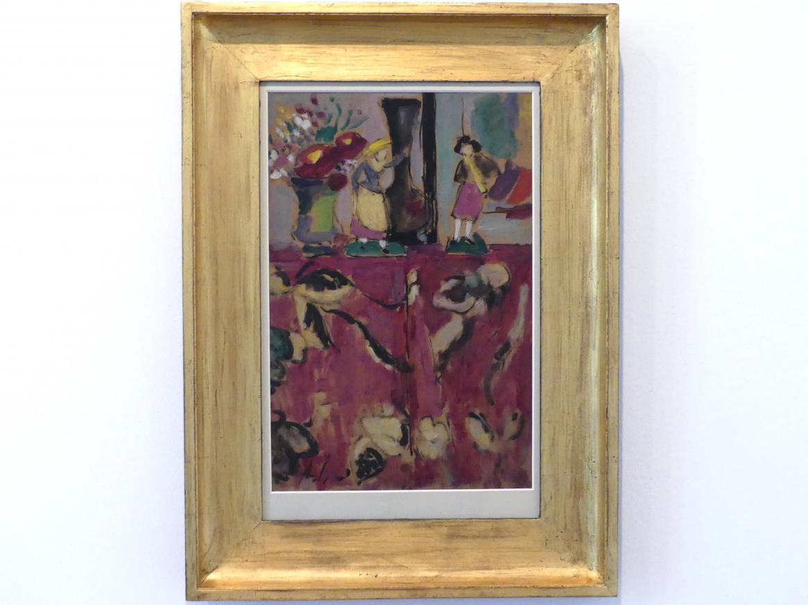 Alexej von Jawlensky: Atelier-Stillleben (2 Figuren), Um 1928