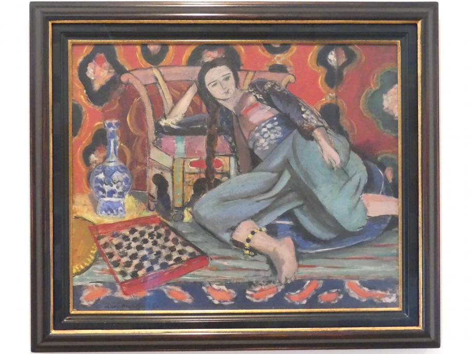 Henri Matisse: Odalisque mit Sessel, 1928