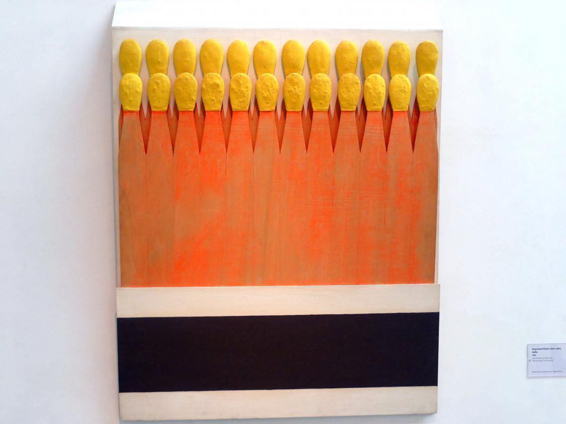 Raymond Hains: Saffa, 1961