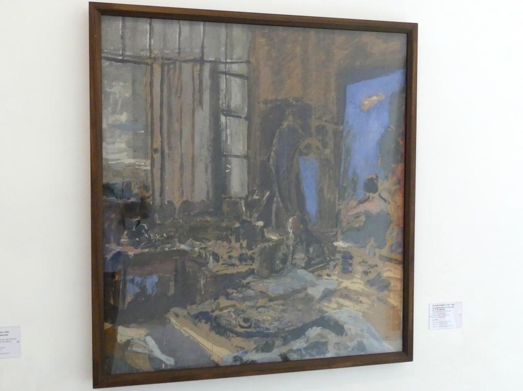 Édouard Vuillard: Entwurf für ein Porträt von K. X. Roussel, um 1930