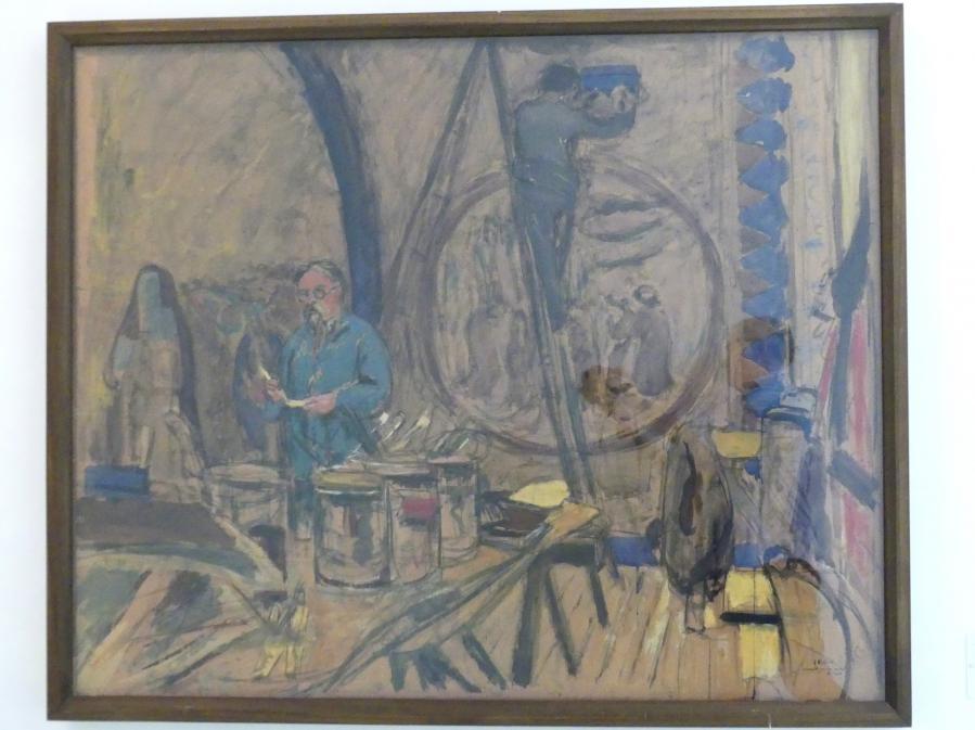 Édouard Vuillard: Entwurf für ein Porträt von Denis, Um 1930