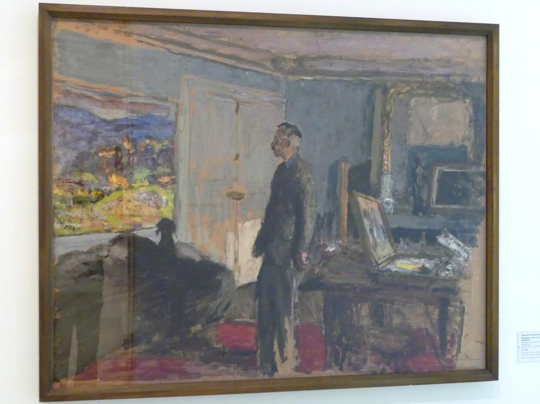 Édouard Vuillard: Entwurf für ein Porträt von Bonnard, um 1930