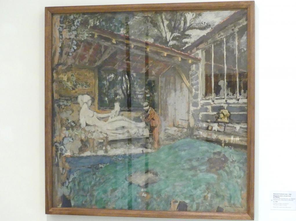 Édouard Vuillard: Entwurf für ein Porträt von Maillol, um 1930