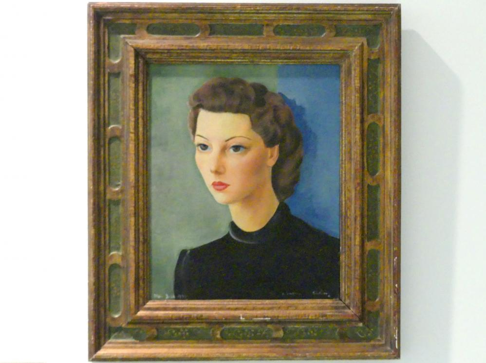 Moise Kisling: Porträt von Madame A., Um 1950