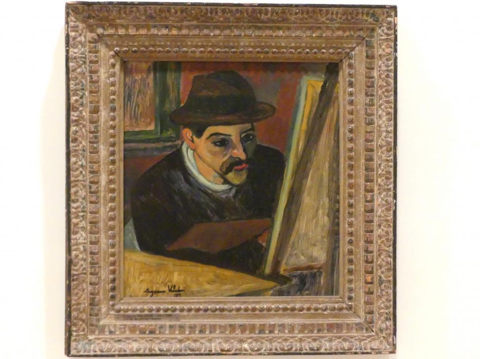 Suzanne Valadon: Utrillo vor seiner Staffelei, 1919