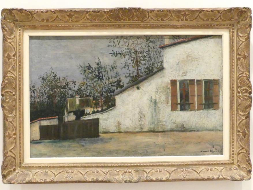 Maurice Utrillo: Haus von Berlioz, 1914