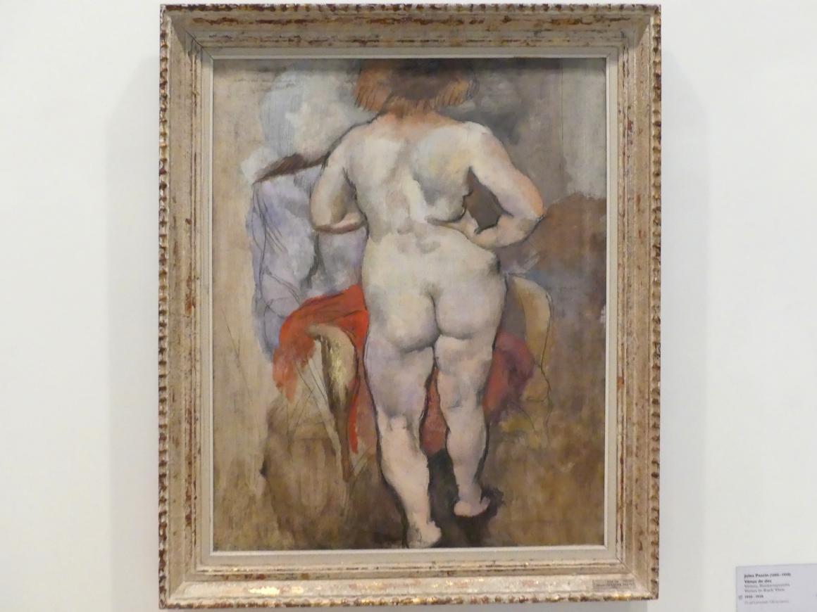 Jules Pascin: Venus, Rückenansicht, 1925 - 1928