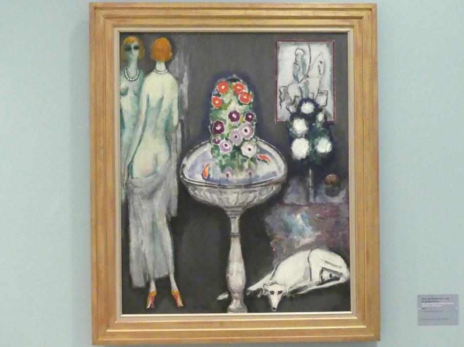 Kees van Dongen: Das blumengeschmückte Becken, 1917