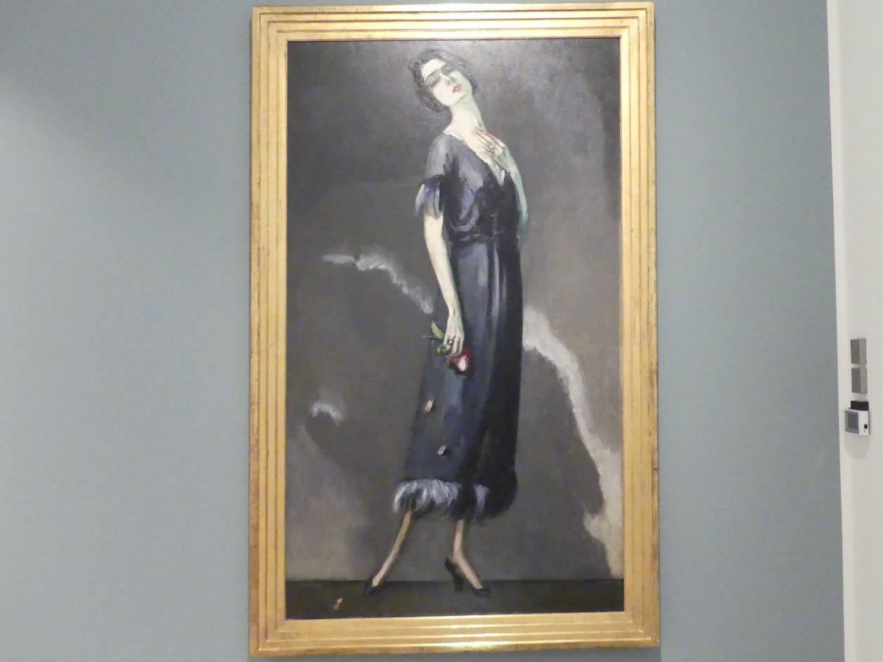 """Kees van Dongen: Maria Ricotti in """"Die Verführerin"""", 1921"""
