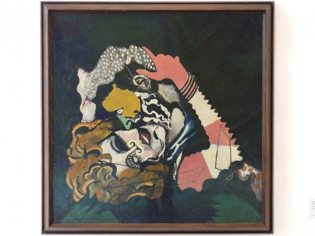 Francis Picabia: Die Verliebten (nach dem Regen), 1924 - 1925, Bild 1/2