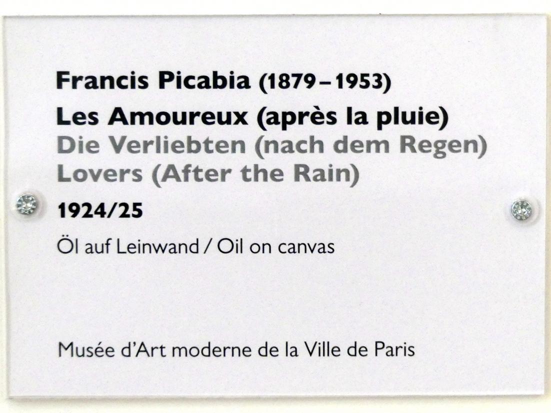 Francis Picabia: Die Verliebten (nach dem Regen), 1924 - 1925, Bild 2/2