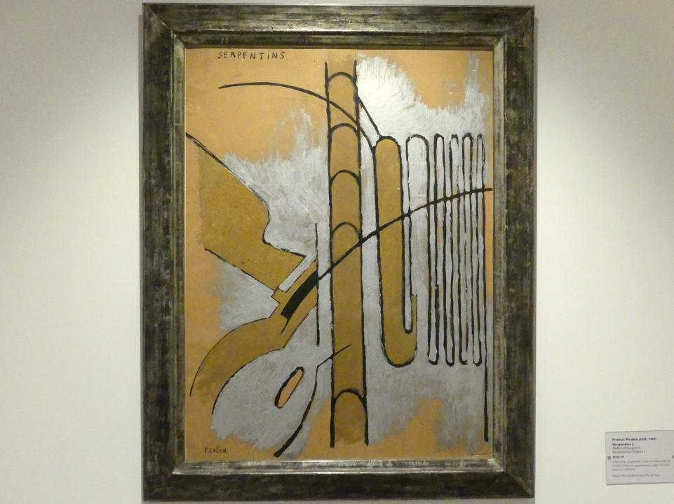 Francis Picabia: Rohrschlangen I, 1918 - 1919