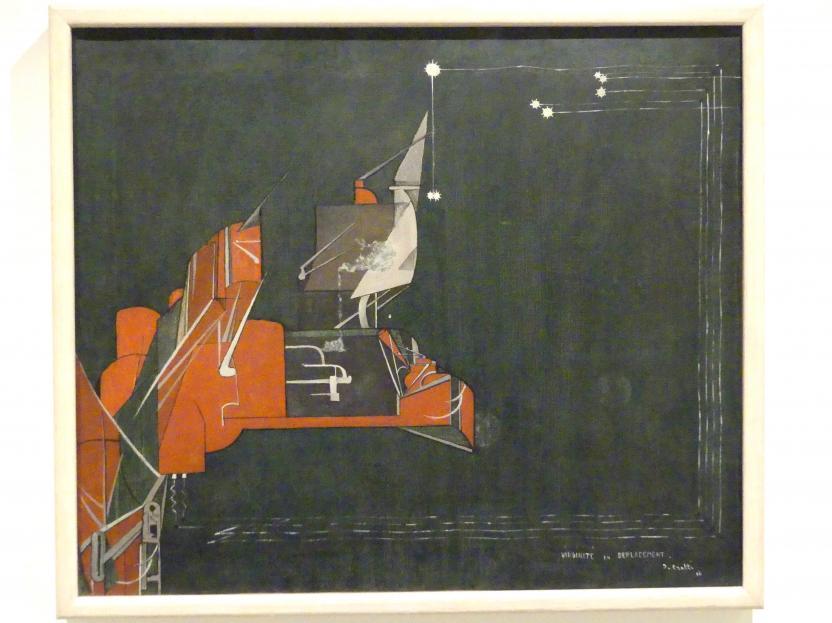 Jean Crotti: Jungfräulichkeit unterwegs, 1916