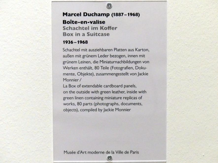 Marcel Duchamp: Schachtel im Koffer, 1936 - 1968, Bild 5/5