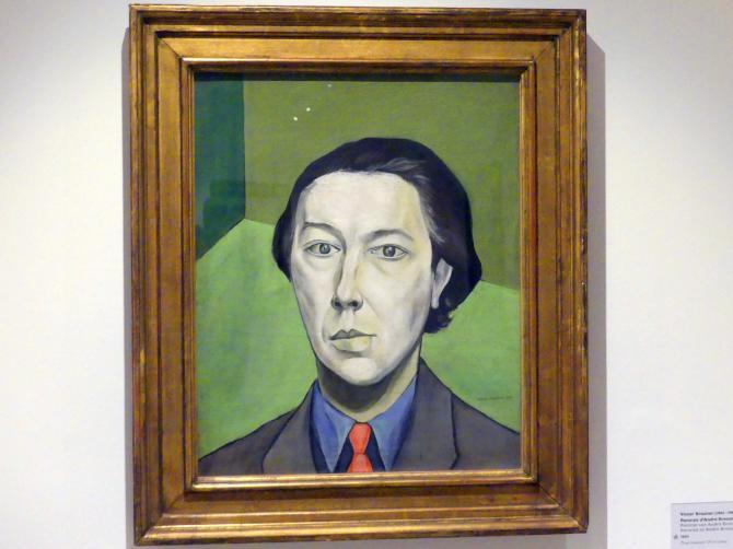 Victor Brauner: Porträt von André Breton, 1934