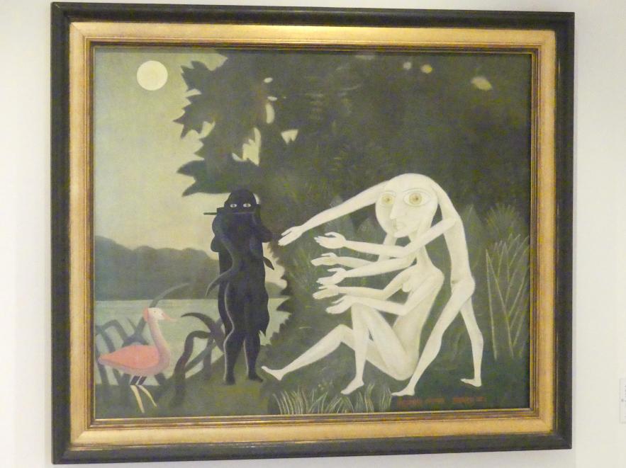 Victor Brauner: Die Begegnung in der Rue Perrel 2a, 1946