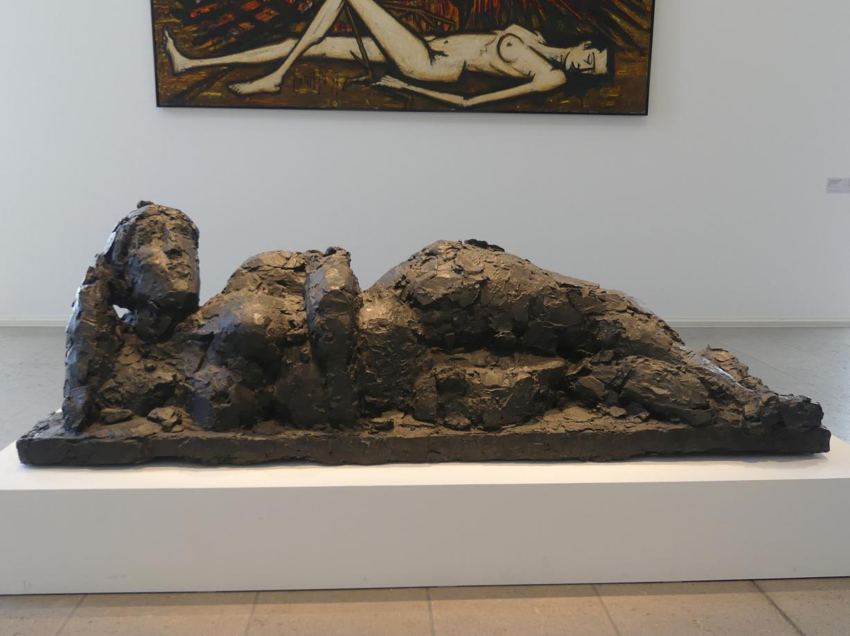 Hans Josephsohn: Große Liegende, 1971