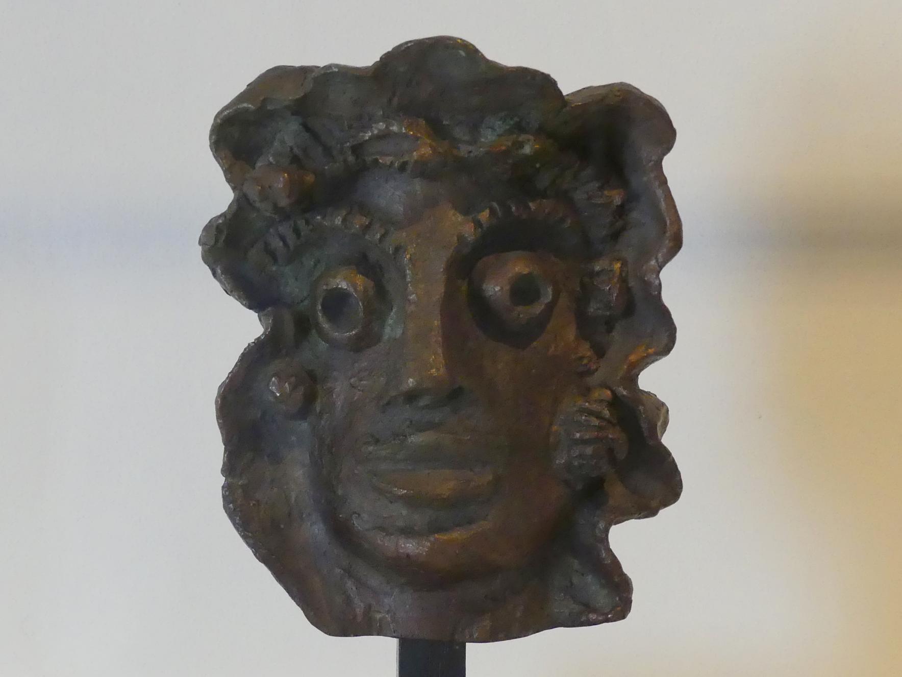André Derain: Frau mit einer Locke, 1938 - 1950