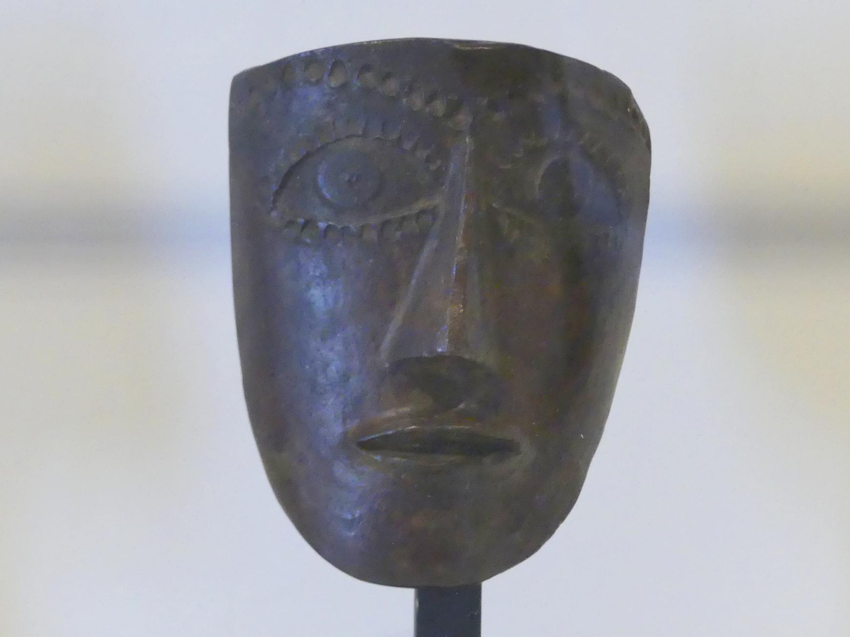 André Derain: Maske mit Haaren auf der Stirn, 1938 - 1950