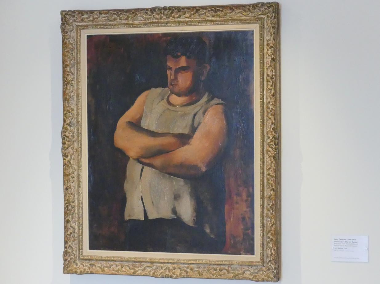 Jean Fautrier: Porträt von Marcel Castel, vor 1925
