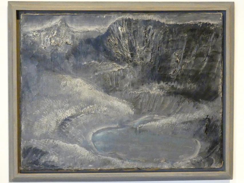 Jean Fautrier: Blauer See I, 1926