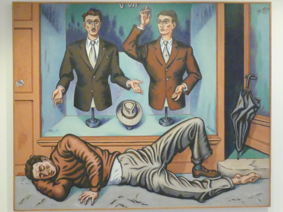 Jean Hélion: Große Schaufensterpuppenschau, 1951