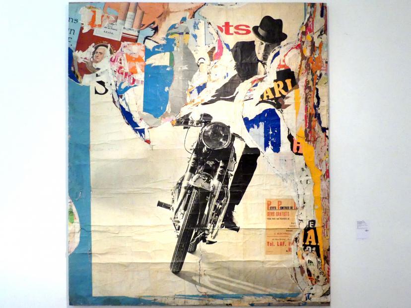 "Jacques de la Villeglé: 19.03.1965 ""Motorrad, Avenue Ledru-Rollin"", 1965"