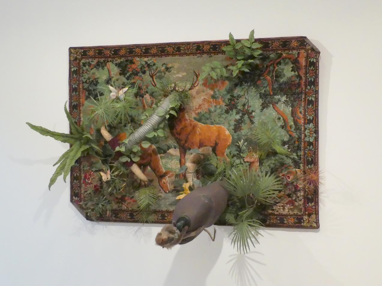 Daniel Spoerri: Optische Ent-Täuschung-Urwald - Der Dschungel oder Hommage an Rousseau, 1963