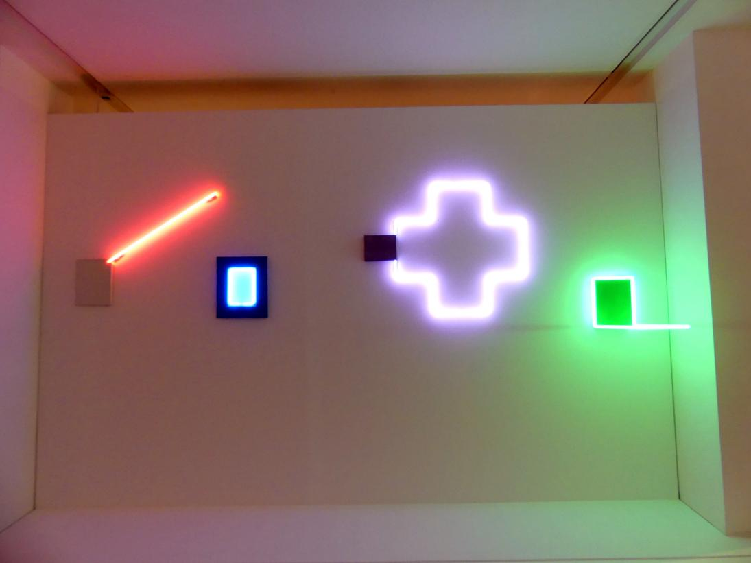 Martial Raysse: Vier Neons für Alexandra, 1967