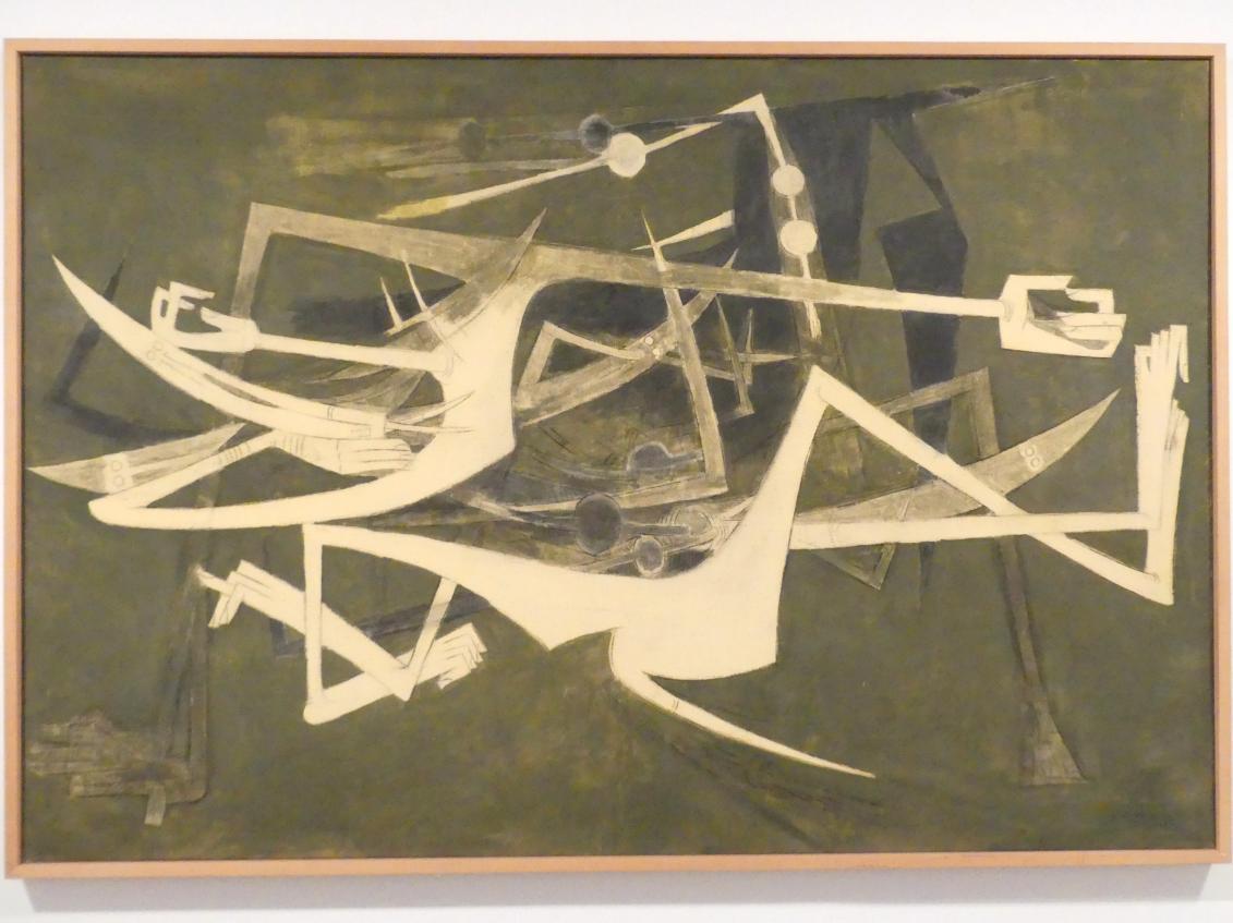 Wifredo Lam: Das nicht Begehrenswerte, 1962, Bild 1/2