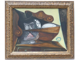 Pablo Picasso: Das Buffet des 'Catalan', 1943