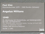 Paul Klee: Angelus Militans, 1940, Bild 2/2