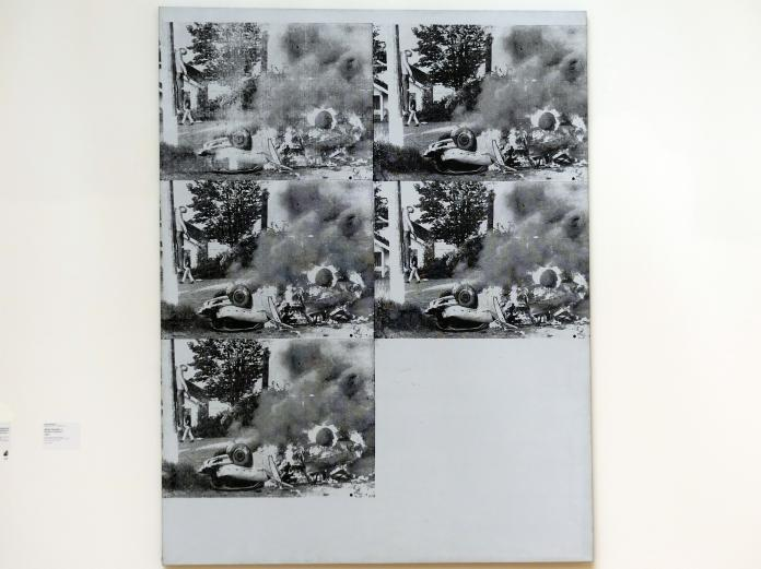 Andy Warhol: White Disaster I - Weißes Unglück I, 1963