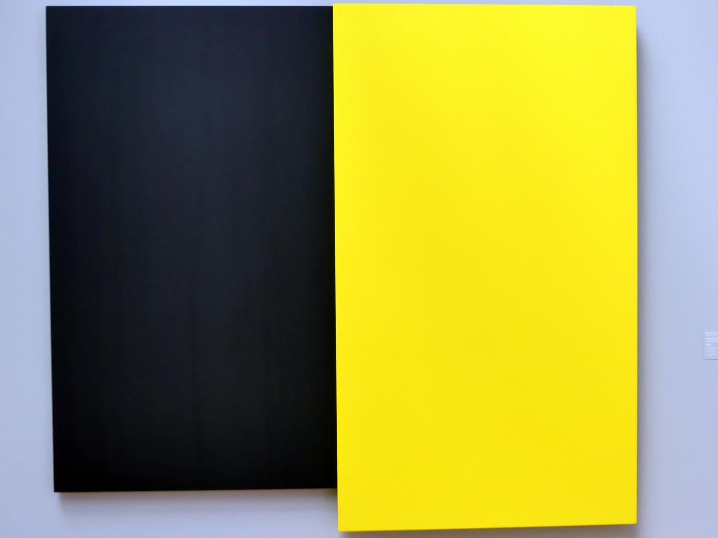Ellsworth Kelly: Yellow on Black - Gelb auf Schwarz, 2001