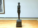 Alberto Giacometti: Die Frau auf dem Wagen, Um 1944 - 1945
