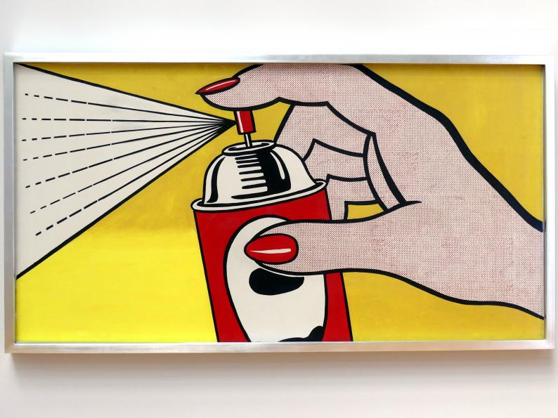 Roy Lichtenstein: Spray, 1962