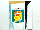 Andy Warhol: Peach Halves - Pfirsichhälften, 1962