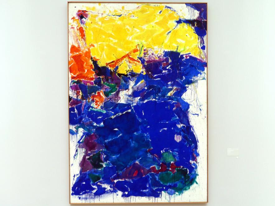 Sam Francis: The Over Yellow I - Das Über-Gelb I, 1957 - 1958