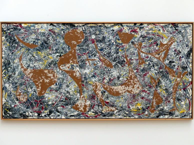 Jackson Pollock: Out of the Web: Number 7, 1949 - Aus dem Gewebe heraus: Nummer 7, 1949, 1949