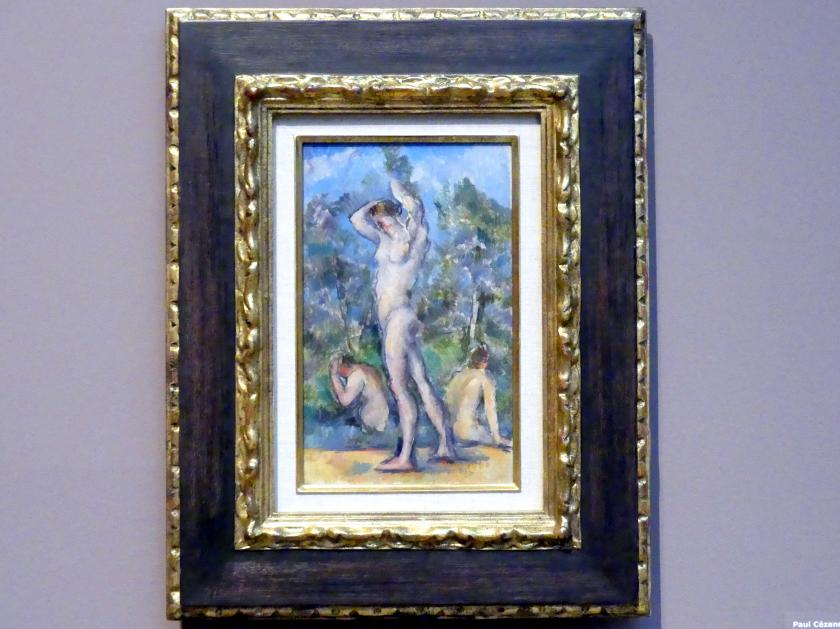 Paul Cézanne: Le Bain - Das Bad, 1880 - 1882