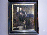 Wilhelm Leibl: In der Küche, 1898