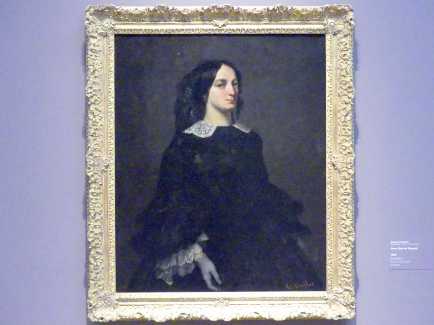 Gustave Courbet: Mme Charles Maquet, 1856