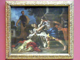 Francesco Solimena: Messalinas Tod, Um 1705 - 1709