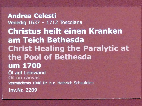 Andrea Celesti: Christus heilt einen Kranken am Teich Bethesda, um 1700, Bild 2/2