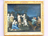 Giuseppe Gambarini: Tanzende Landleute, um 1719