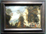 Joos de Momper: Felsenlandschaft, um 1620 - 1630