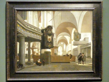 Emanuel de Witte: Innenansicht der Oude Kerk in Amsterdam, 1660